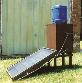 Build Your Own Solar Water Heater Perma Pak Food Storage