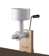 Family Grain Mill with Handle